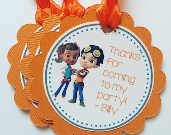 Rusty Rivets Gift Tags, Set of 12