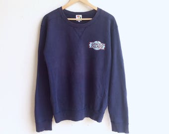 Rare! Vintage 90's ARNOLD PALMER small logo sweatshirt dark blue colour large size
