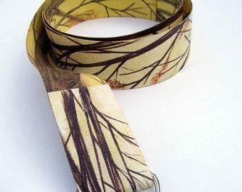 Original hand painted belt