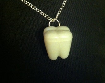 Tooth Box Necklace