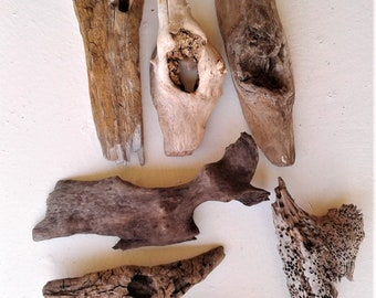 Choose Your Driftwood, Select Any Three Pieces From Lot of Six