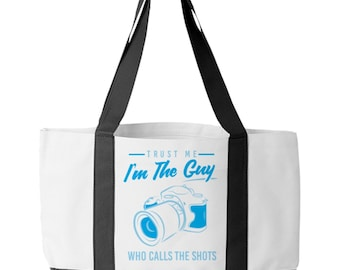 Tote Bag Photography The Guy Who Calls The Shots