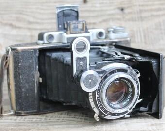 vintage camera Genuine Camera  Moscow - 2 / Lens: Industar-23 / rare camera collectible camera Moscow 2 / Soviet retro photo camera