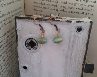 Ceramic Beaded earrings