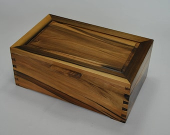 Timber Jewellery Box - Sassafras