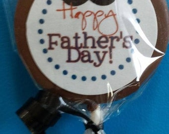 24 Fathers Day Chocolate Lollipops