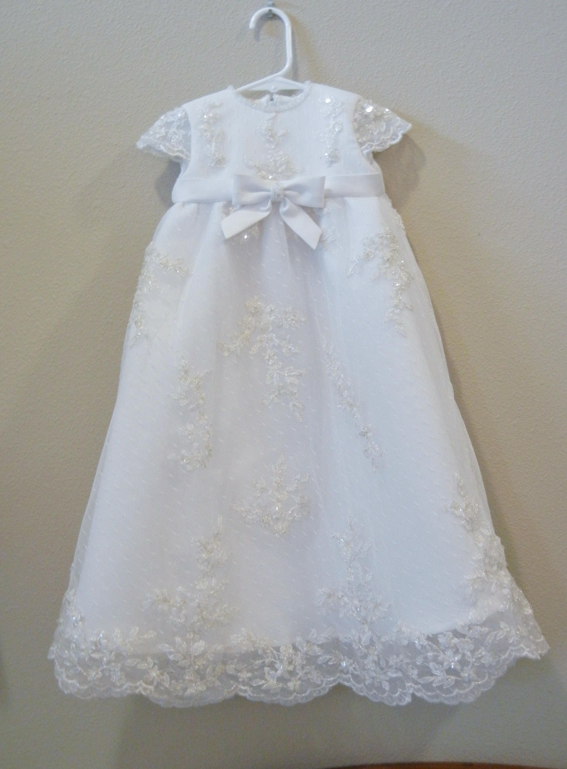 Christening Gown Baptism Gown made from your Wedding dress