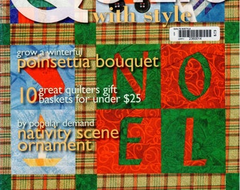 Quilt with Style Magazine - December 2004 - Issue 49