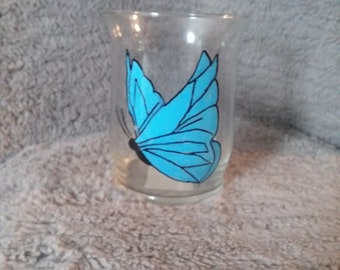 Butterfly candle holder