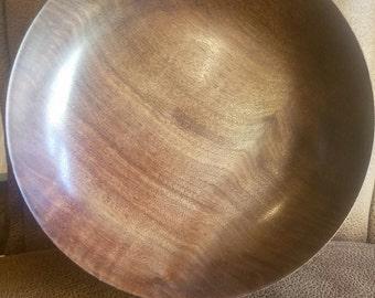 Custom Handturned Walnut Bowl