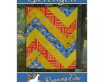 Serengeti Quilt Pattern