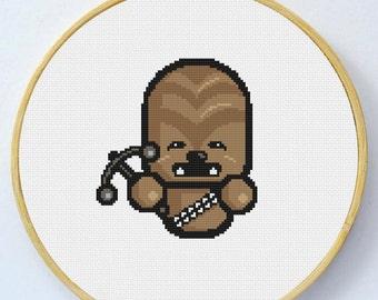 Chewbacca-  Cross Stitch Pattern - Instant Download