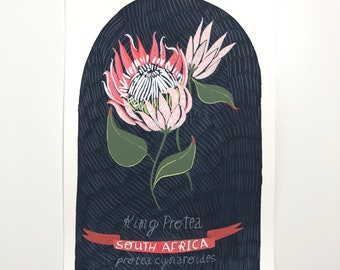 National Flowers: South Africa (original painting)