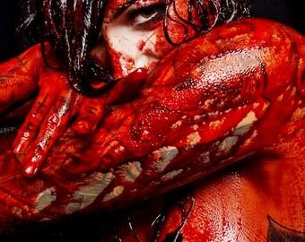 11x17 Cervena Fox horror photo art print