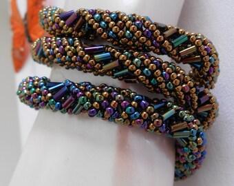 Multi Direction Spiral Rope Bracelet