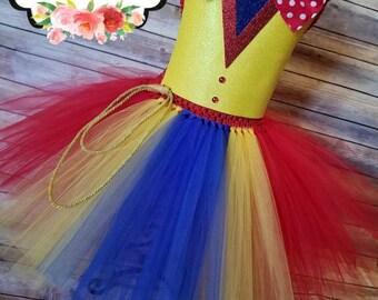 Ringmaster Tutu dress Costume   circus tutu dress  Ringmaster costume   Halloween Costume  Newborn- adult listing