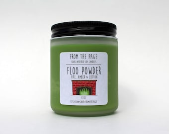 Floo Powder Soy Candle - 8 oz