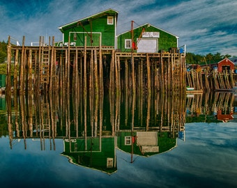 What's Up #1 - Swans Island, Maine - Fine Art - Wall Art - Inquire about Size & Frame Options