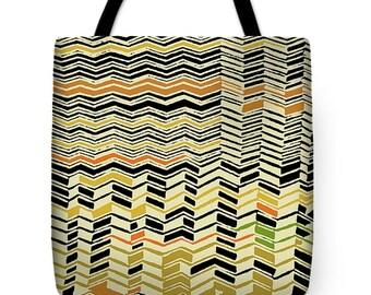 African Kuba Zig Zag Tote Bag Gift - Africa Decor Kuba Zig Zag Throw Pillow Gift - Tribal Kuba Contemporary Pillow - African Tribal Gift