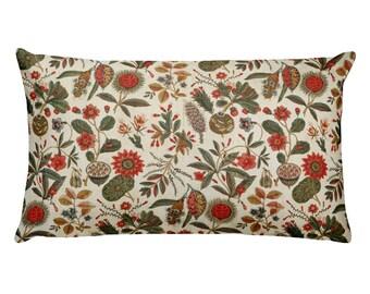 Printed by Oberkampf, Jouy-en-Josas, France, Printed Textile - Rectangular Pillow