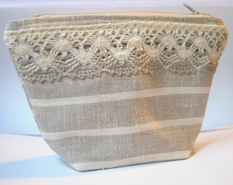 Burlap Womens Clutch Linen Lace Bag Purses Evening Messenger Pouch Women Purse Small Clutch Everyday Purse