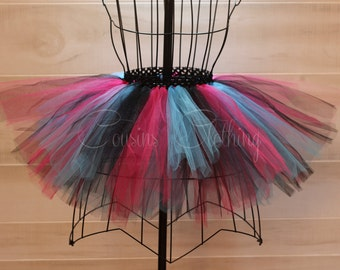 Running Tutu - Race Tutu - Adult Tutu - Neon Run - Color Run Tutu -  Marathon Tutu - 5K Tutu - Foam Dance - Fun Run Tutu - Black Pink Blue