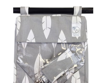 Gray Feathers 3 Hour Bag