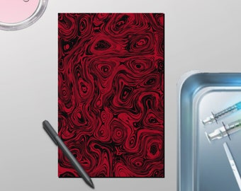 Cool and Funky Acid Notebooks- Swivels and Swirls, Journals, Notebooks, and Logs, Journal, Agenda, Planner, Diary, and Sketchbook.