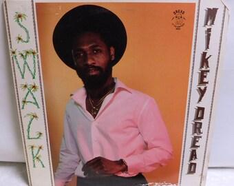 Mikey Dread SWALK- Vintage Vinyl Record Album lp Reggae Music 1982 Heartbeat 09 VG/VG+