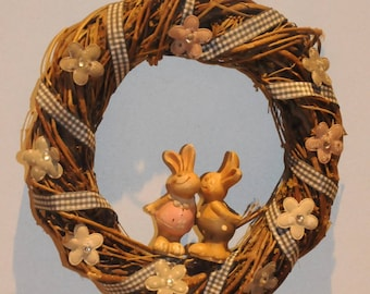 wreath to decorate Easter door or wall