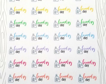 Laundry Day Markers (Set of 40) Item #501