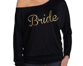 Bride T-Shirt. Bride Shirt. Bridal Shirt. Bride To Be. Bachelorette Shirt. Hen Shirt. Wedding Shirt. Bride Top.