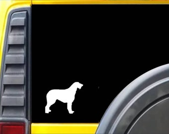 Irish Wolfhound Dog *J674* Window Decal Sticker