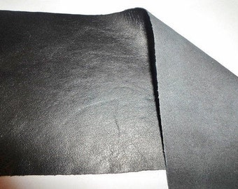 9x3mm Black Leather Rectangle, Bracelet Finding, Jewelry supplies, stamping, craft supply, bag, purse, patch, cowhide,