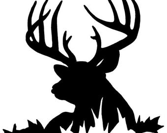 Deer Decal, Hunting Decal, Personalized Decal
