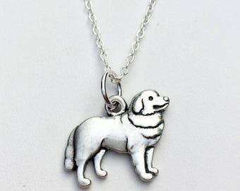 Bernese Mountain Dog Charm Necklace