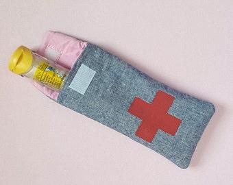EpiPen Case - EpiPen Pouch - Padded EpiPen Case - Insulated EpiPen Pouch - Allergy Pouch - EpiPen Holder - First Aid Pouch - Medicine Pouch