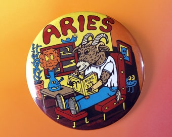 "Aries 2.25"" Button / Magnet"