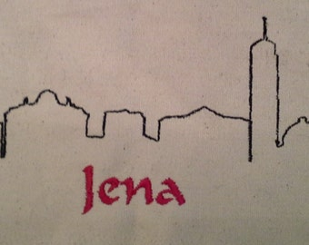 Skyline Jena embroidery file instant download