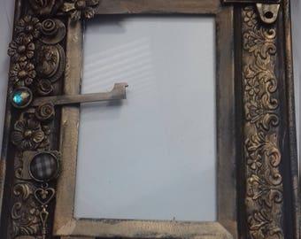 Victorian steampunk frame