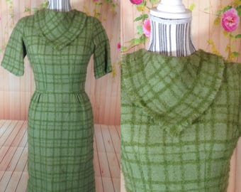Vintage Youth Guild Green Short Sleeve Dress