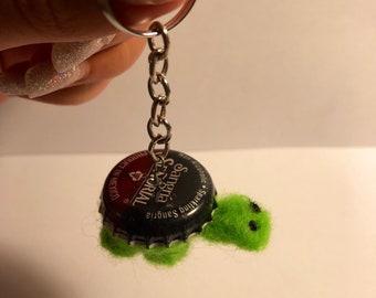 Tiny Turtle Keychain