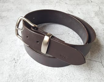 Personalised Men Leather Belt