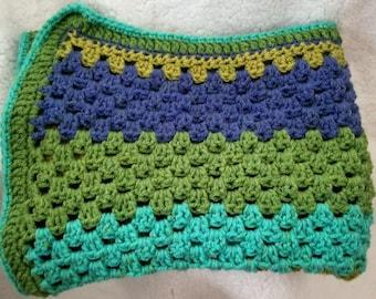 Baby Blanket Hand Crocheted