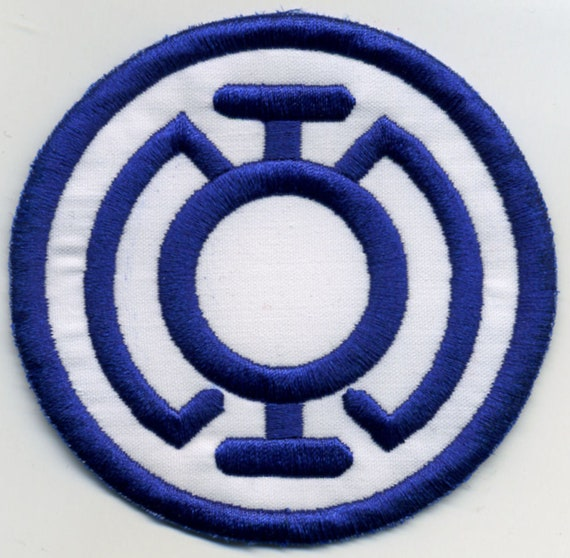 35 Blue Lantern Corps Classic Style Embroidered Patch