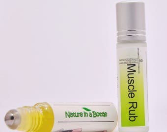 Muscle Rub Essential Oil Roll On