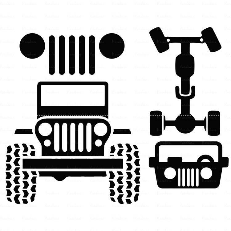 Download Jeep svg Car svg Jeep svg files for cricut ai Files dxf Files
