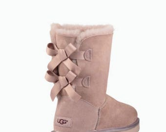 ugg bailey bow rose