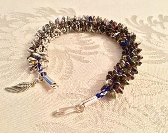 Kumihimo Porcupine Riso Bracelet