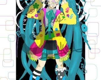 Decora Hatsune Miku